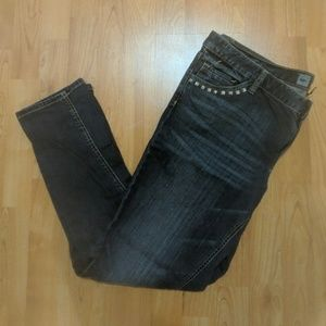 Mossimo studded skinny jeans - 16S